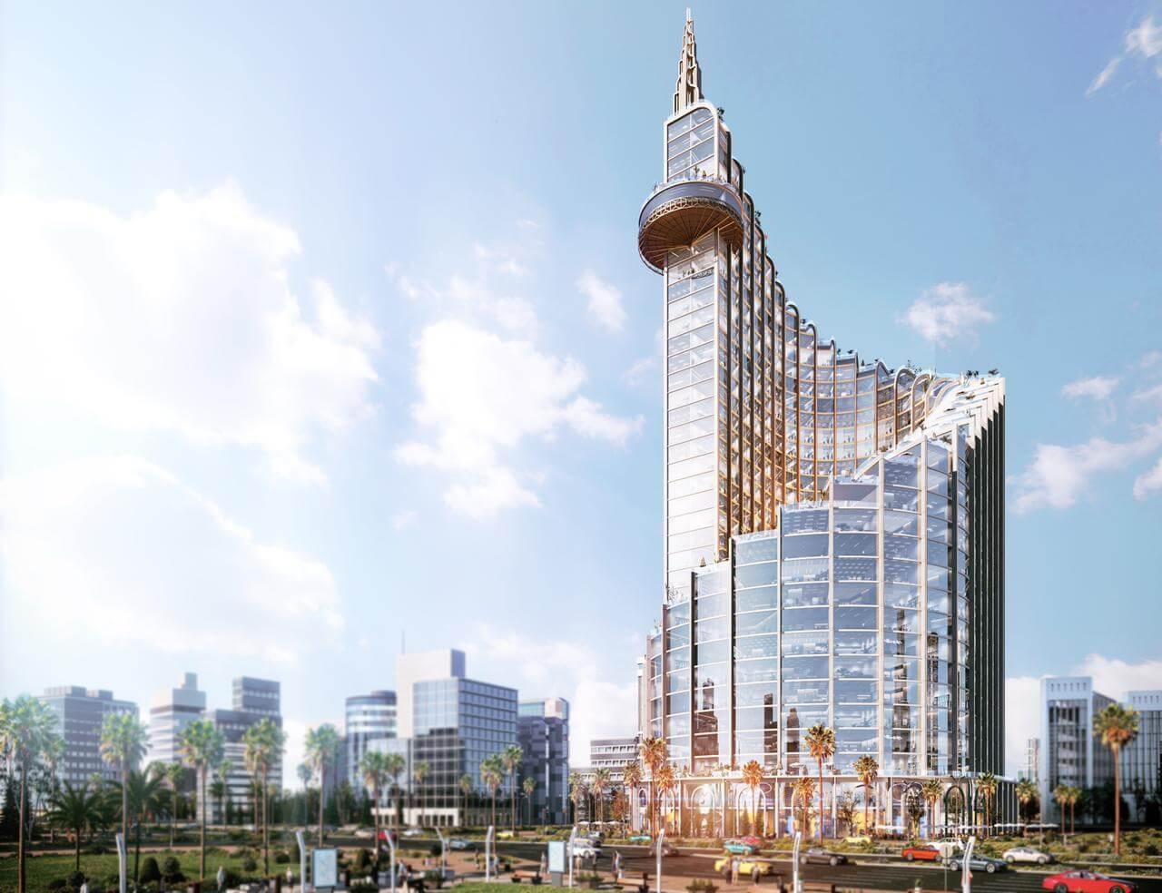 إيست تاور العاصمة الادارية الجديدة